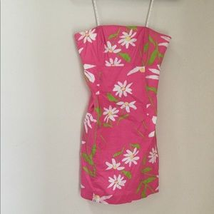 Lilly Pulitzer | strapless dress | size 4